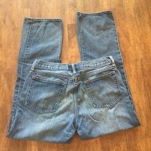 J. Crew slim straight jeans 33x30 EUC denim